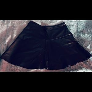 Gap faux leather skirt